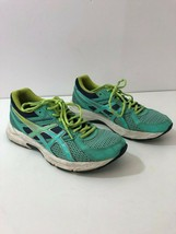 ASICS T5F9N Gel Contend 3 Leather Upper Aqua Running Sneakers Womens Size 7 - $41.53