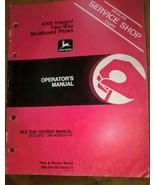 JD John Deere 4200 Moldboard Plows Operators Manual OM-A43145 OMA43145 D... - $29.95