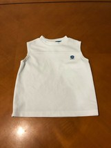 Boys Kids Old Navy White Tank Tops Shirts Size XS Extra Small 4/5 Cotton - $3.95