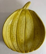 """""""Harvest Collection"""" Pumpkin Shape Deep Plate/Bowl Style-Eyes by Baum Bros - £9.44 GBP"""