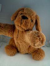 Barbie puppy dog plush 13 inch talking 2011 by Mattel beige - $11.08