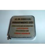 Vintage 1970s  Baltimore Barlow tape Measure C.V. Foster / Timken Bearings - $20.00