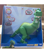 Takara Tomy Toy Story 4 Talking Friends Real Voices 22cm Rex Action Figure - $48.00