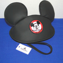 Disney Parks Mickey Mouse Club Hat with Ears Wristlet image 2