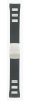 ORIGINAL CITIZEN WATCH BAND BLACK RUBBER STRAP # 59-S52565 - $103.95