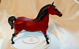 Breyer Horse 1994 Stretched Morgan Lippitt Pegasus Red Bay Traditional R... - $54.45