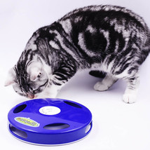 Tail Spin Rat, Electric Toy for Cat or Kitten, Interactive Battery Operated Toy image 4