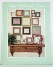 Cross Stitch Chart Sue Hillis Designs More Hearts and Flowers - $4.99