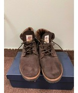 Mens Gorilla Hipster Boots Brown Suede Leather Size 11 MSRP $  259.00 - $58.41