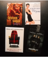 Movie Promotion Pins Brown Sugar Someone Like You Recruit Regal Gift Cer... - $8.99