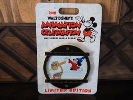 Disney Pin Animation Celebration 2018 - LE 500 - Fantasia Mini Jumbo Mickey - $34.99