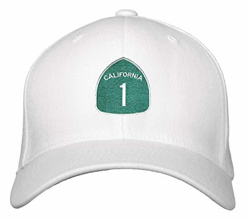 PCH Pacific Coast Highway Hat - Adjustable Cap (White)