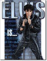 Elvis is Alive American Icon Music Elvis Presley The King Musician Metal Sign - $19.95