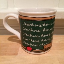 "American Greetings ""Teachers Have Class"" School Coffee Tea Mug - $9.50"