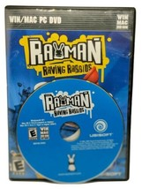 Rayman Raving Rabbids PC Game 2006 DVD Win Mac Ubisoft Rated E - $7.22