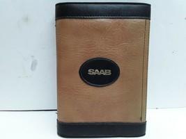 Vintage 1986 Saab owner's manual and document portfolio case OEM - $16.82