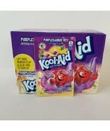 Kool Aid Purplesaurus Rex Grape Lemonade Packets Discontinued 2016 Exp 4... - $33.85