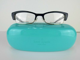 Kate Spade Joetta (FB2) Navy Dots 50 x 18 135 mm Eyeglass Frames - $55.96
