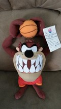 "LOONEY TUNES BASKETBALL TAZ PRE-PRODUCTION SAMPLE Plush 12"" RARE PROMO T... - $129.99"