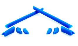 Replacement Rubber Kit for Oakley Half Jacket XLJ Earsocks Temple Nosepads Blue - $7.33