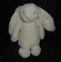 "11 "" jellycat Blanc Bébé Timide Bunny Rabbit Animal en Peluche Jouet Adorable - $22.11"