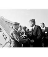 President John F. Kennedy at Eglin Air Force Base in Florida New 8x10 Photo - $6.61