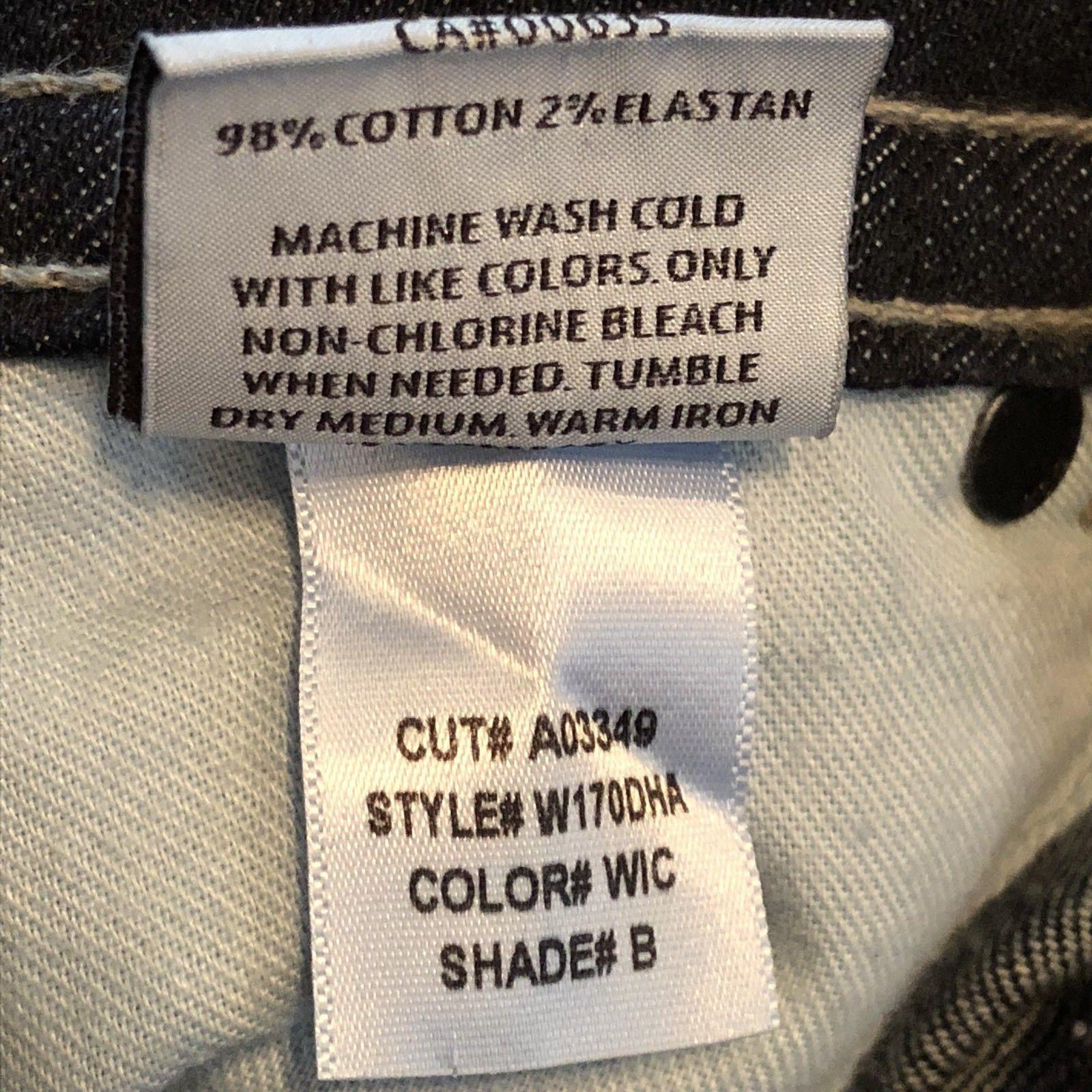 Hudson Jeans Signature Boot Cut Style #W170DHA Color NAN Dark Women's Size 26