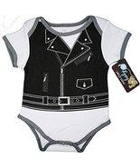 Infant Biker Baby Costume Creeper (3-6 Months) - $2.99