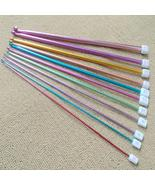 11 Crochet Hooks, Assorted Colours and Sizes - $36.32 CAD
