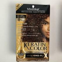 Schwarzkopf Keratin Color Intense Caring Color W/ K-Bond Color 9.89 Crimson - $15.83