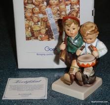 Volunteers Hummel Figurine 50 2/0 TMK7 Rare Desert Shield Storm Edition W/ Box! - $202.73