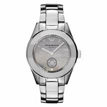 Emporio Armani AR1463 Silver Ceramic Womens Watch - $103.87