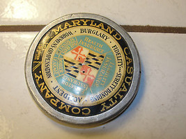 Maryland Casualty Company, medallion, advertising, fidelity, bonding, ol... - $89.78