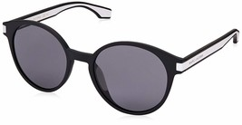 Marc Jacobs Marc287s Polarized Oval Sunglasses, Blck Whte, 52 mm - $103.96