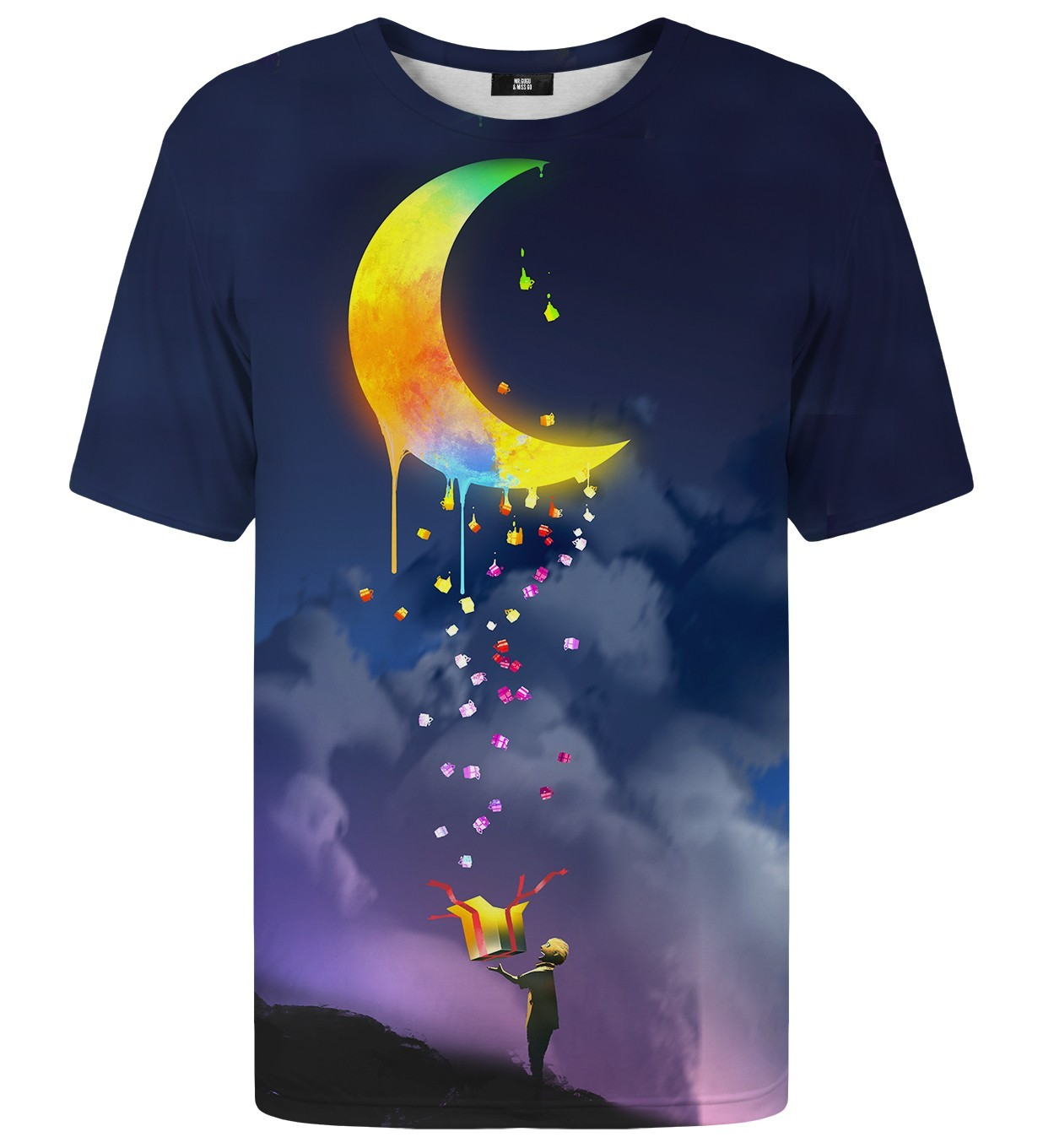 Gifts from the Moon Printed T-Shirt | Unisex | XS-2XL | Mr.Gugu & Miss Go