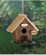 Birdhouses Rustic Pine Cone Wood - $18.51