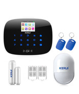 KERUI G19 IOS Android APP GSM Home Alarm System Door Window Sensor Pet I... - $168.00