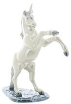 Hagen-Renaker Specialties Large Ceramic Figurine Unicorn Rearing on Base image 2