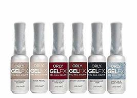 Orly GelFX - Gel Nail Color - 6 Piece Kit - 0.3oz each - 35023 - $61.13