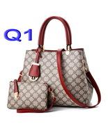 2-Piece Set Women Handbags Purses Women Leather Shoulder Bags Tote Bags ... - €35,29 EUR