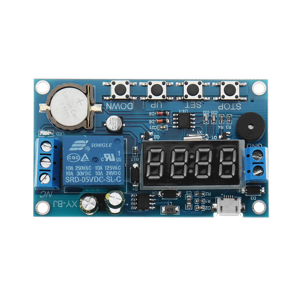 DC 5V To 60V Real-time Relay Module Clock Synchronization Timer Module Time Cont image 3