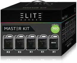Hydrofarm Elite Garden Nutrients Master Kit Concentrated Liquid Formula - $238.49