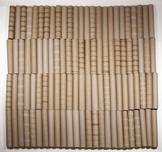 LOT OF 100 EMPTY PAPER TOWEL CARDBOARD ROLL TUBE CLEAN CRAFT SCHOOL PROJECT - $29.69