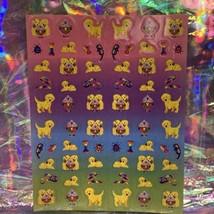 Lisa Frank Complete Mini Sticker Sheet Casey Caymus Ice Cream Sundae S271