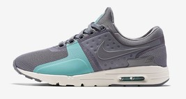 Nike Women's Air Max Zero Shoes NEW AUTHENTIC Cool Grey/Sail 857661-001 - $89.99