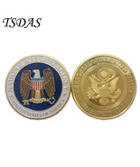 USA NATIONAL SECURITY AGENCY Souvenir Coins Golden Coin 24K Gold Plated ... - $5.50
