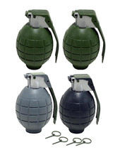 Lot of 4 Kids Toy B/o Grenades for Pretend Play, Free Shipping, New - $9.99