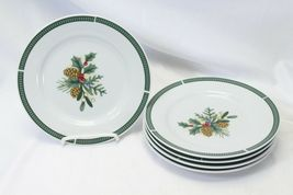 Fairfield Wintergreen Plates and Bowls Lot of 15  Christmas image 9
