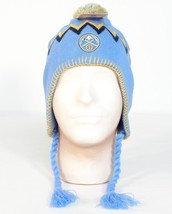 NBA Denver Nuggets Blue Knit Peruvian Winter Hat Adult One Size NWT - $18.55