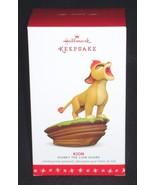 Hallmark Keepsake 2016 Kion The Lion Guard Christmas Ornament QXD6111 NEW IN BOX